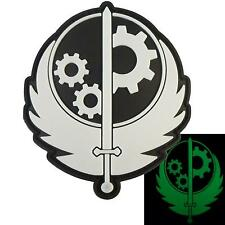 Fallout Brotherhood of Steel PVC glow dark Pip Boy XBOX PS4 morale hook patch