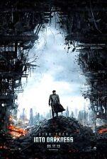 STAR TREK 12: INTO DARKNESS - 2013 - orig D/S 27x40 ADV movie poster -CHRIS PINE