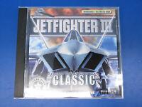 Jetfighter III Classic Combat Flight Simulator Vintage PC Game with Jewel Case