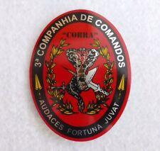 Portuguese military 3ª COMPANHIA DE COMANDOS COBRA unit badge