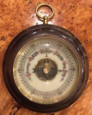 Vintage Germany Wall Hanging Barometer Adjustable Small/Round