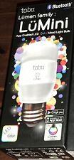 3 LED Color Changing Mood Light Tabu Lumini App Enabled Light Bulb NIB Lighting