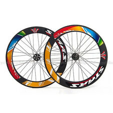 Stars Fahrrad Single Tempe Fixed Gear Fixie Gang 700C 70mm Rad Wheelset