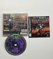 Steel Harbinger (Sony PlayStation 1, 1996) COMPLETE TESTED!! PS1