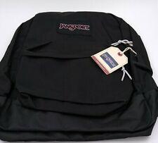 JansSport™️ Black Label  Superbreak Black Backpack