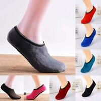 Slipper Socks Indoor Floor Nonslip Ankle Soft Low Cut Warm Winter Sock Super