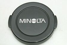 ORIGINAL MINOLTA 55MM LENS CAP - 1980s