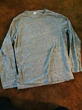 Old Navy, men's size large heather gray long sleeve shirt