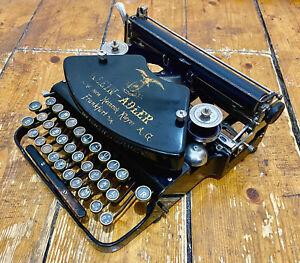 Klein Adler Antique Typewriter German Made Circa 1910-1920 Great Condition