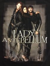 Lady Antebellum Need You Now Concert Tour Black T Shirt Size Small