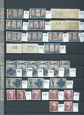 FRANCE - RARE -PERFORÉS - PERFINS - 31  timbres tous différents