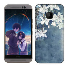 Soft TPU Silicone Case For HTC One M9 Protective Phone Back Covers Skins Floral
