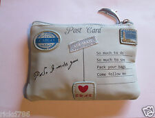 HTF Cargo Mediterranean Collection Summer 2011 ,5 pcs.  Postcard Make-up Bag !!!