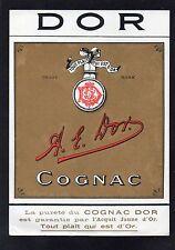 COGNAC VIEILLE LITHOGRAPHIE COGNAC A.E. DOR RARE    §09/09§