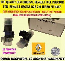 Original Para Renault Megane 225 Sport, R26 y R26R X1 Inyector de combustible 8200511099