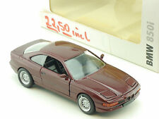 Schabak 82229417657 BMW 850i E31 Metallic Red Promo 1:43 Boxed 1412-11-09