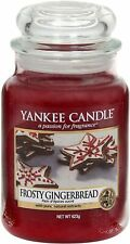 Yankee Candle Large Jar Frosty Gingerbread 623g
