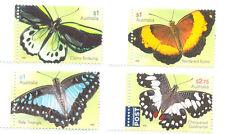 Australia-Beautiful Butterflies set mnh 2016- insects