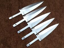 Lot of 5 Custom Handmade 1095 Carbon Steel Sgian Dubh Blank Blades Knife making
