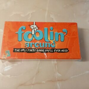 FOOLIN' AROUND - Great Adult Party Game - SEALED...NEW....