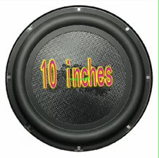 "1pcs 10""inch bass radiator passive Speaker Bass diaphragm Bass radiation basin"