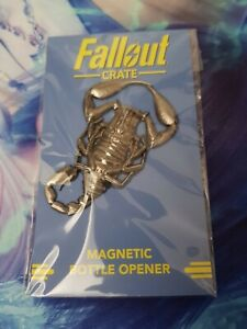 Fallout Crate Radscorpion Magnetic Bottle Opener Lootcrate New/Sealed
