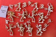 Warhammer 40k Dark Eldar Wyches Squad 11x Metal Figures WH40K Wych Army Drukhari