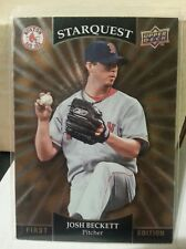 2009 Upper Deck First Edition Starquest  #SQ-13 Josh Beckett, Boston Red Sox