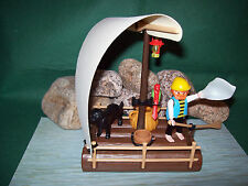 Playmobil ***Rarität*** Pirat/Floß 3793-A/1989, ohne OVP!
