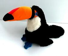 "Vintage 1980's Guinness Advertising ~ Toucan ""BIG ARTHUR"" ~ 10"" Plush Toy"