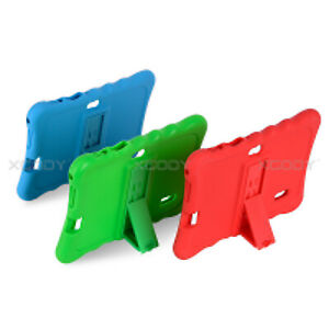 """Case Cover Soft Silicone Stand Shockproof Case For Ainol Q88 7"""" INCH Tablet PC"""