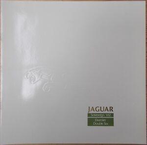 Prospekt Jaguar Sovereign V12 + Daimler Double Six 1987 d