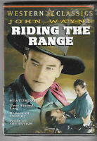 John Wayne Riding the Range DVD New Two Fisted Law, Riders of Destiny