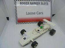Scalextric C5 Type two Europa Vee white  #4  VGC , unboxed bargain.