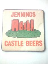 Vintage JENNINGS / CASTLE BREWERY - PALE ALE  Cat No'07 Beermats / Coasters