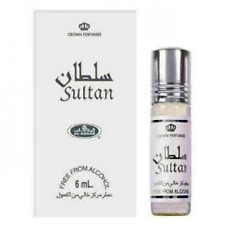Sultan - Concentrated Perfume Oil 6ml Roll On Bottle by AL-Rehab Non Alcohol