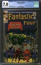 Fantastic Four #39 CGC 7.0 (OW-W) Daredevil & Dr. Doom