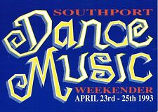 SOUTHPORT DANCE MUSIC WEEKENDER Rave Flyer Flyers 23/4/93 A5 Pontins Southport