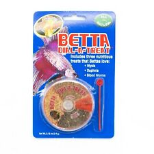 Zoo Med Betta Dial-a-Treat Food Includes Mysis Daphnia Blood Worms, Bettas fish