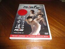 PRIDE Fighting Championships Bushido Vol. 2 DVD - MMA Fights JAPAN - FILIPOVIC