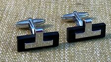 Super Sterling Silver Cufflinks in the Dunhill Style by Charles Tyrwhitt