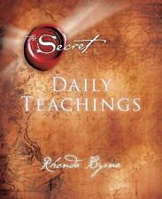The Secret : Daily Teachings by Rhonda Byrne (2013, Hardcover)