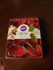 Wilton Christmas Mini Metal Cookie Cutters