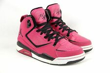 Girls NIKE JORDAN FLIGHT Size 5Y SC-2 459856 609 Cherry Black Basketball Shoes