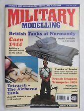 Military Modelling magazine June 1994 Caen 1944 Tetrarch  ++