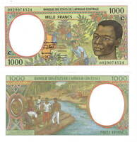 CONGO 1000 Central African Francs (2000) P-102Cg UNC Banknote