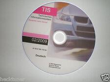 BMW TIS 02/2009 Reparatur E36 E39 E46  E32 E60 E38 E81 E61 E90 E63 E65 Mini R 50