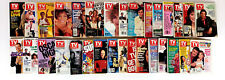 TV Guide 80s and 90s 31 Issue Magazine Lot