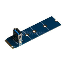 New NGFF M.2 To USB 3.0 Adapter Converter Expansion GPU Riser Card for Mining