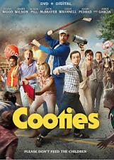 COOTIES (DVD + Digital, 2015) Elijah Wood, Rainn Wilson, Alison Pill *NEW*